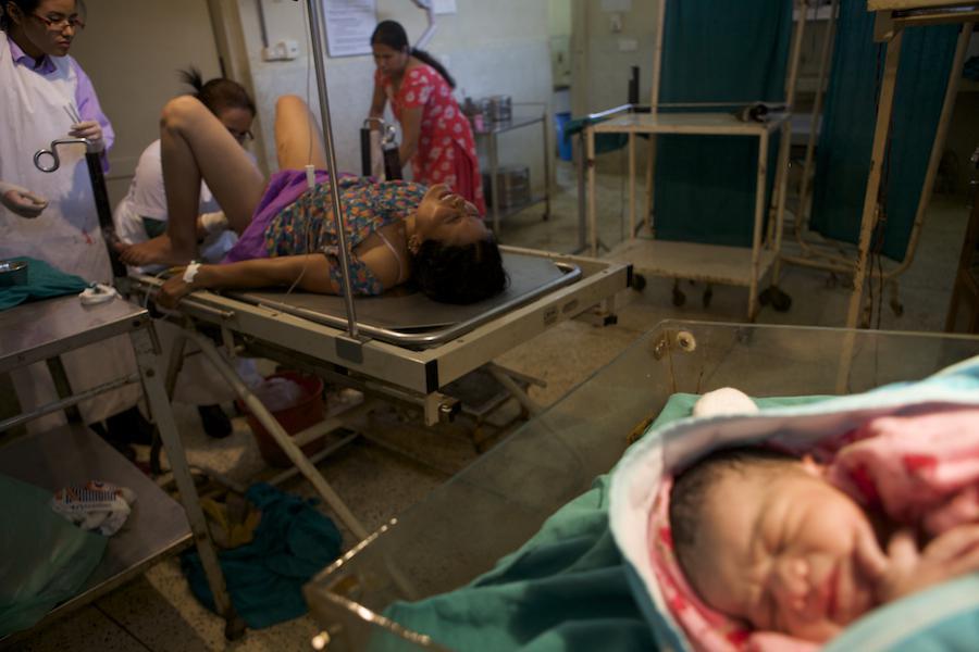 Baby Delivery Room Nurse